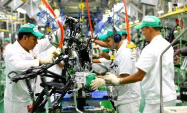 Produção de motos no Brasil recuou 18,6% no mês passado