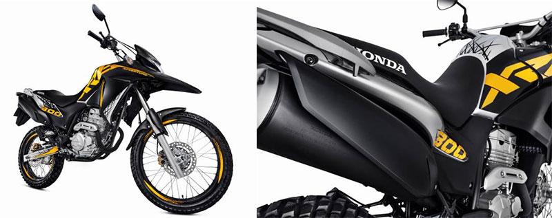 Honda XRE 300 Adventure de cara nova | Moto Channel Brazil