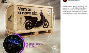 """Honda Biz fica """"moderninha"""" e será lançada no próximo Salão Duas Rodas"""