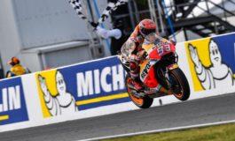 Marc Márquez vence na Austrália de olho no título mundial na classe MotoGP