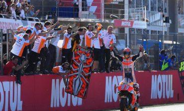 Marc Márquez se sagra tetracampeão mundial na classe MotoGP